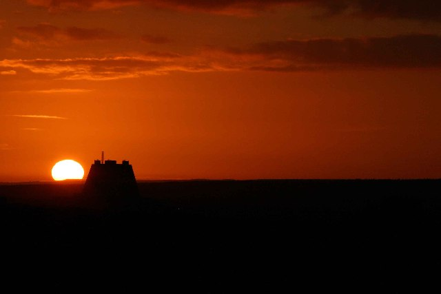 Fylingdales at Sunset