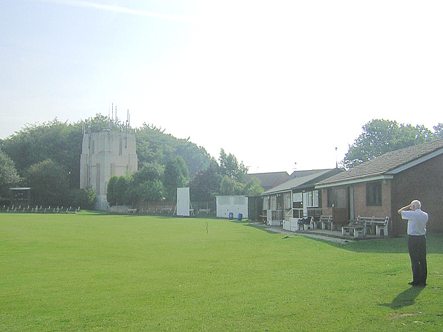 Water Tower from Standish Cricket Club