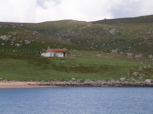 Old fishing station, Red Point