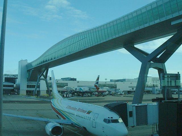 North Terminal Passenger Footbridge