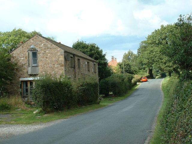 Lane nr Lower Barker