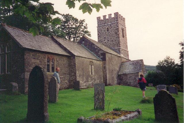 Oare Church, near Exmoor, Somerset