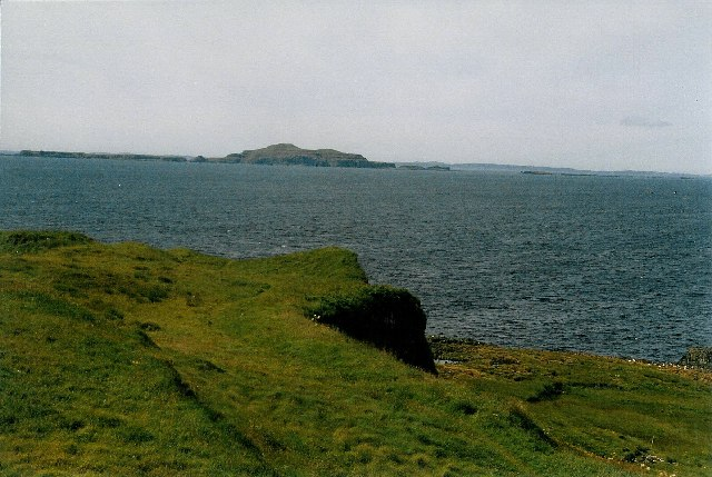 On top of Staffa