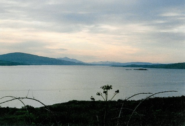 Morven Hills and Sound of Mull