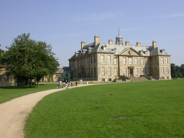 Front of Belton House