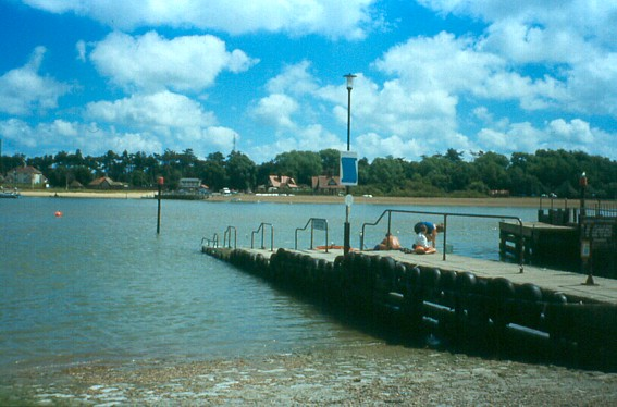 The Jetty at Felixstowe Ferry