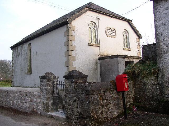 Bwlchgwynt Baptist Church, Cyffic