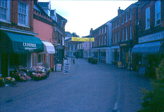 Halesworth town centre