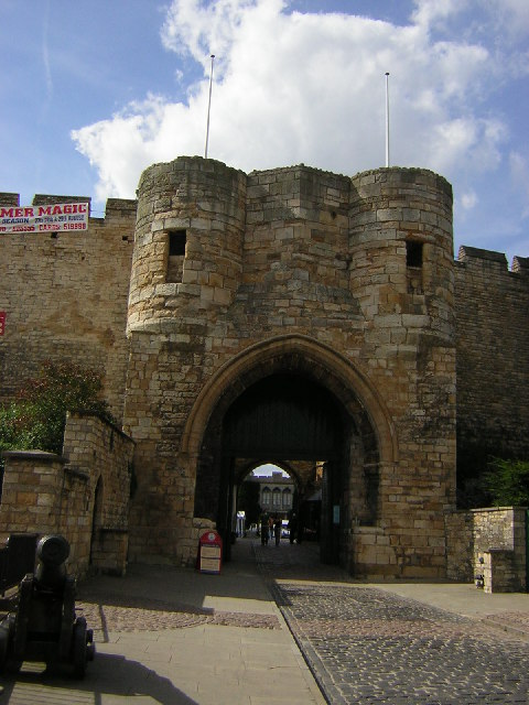 Lincoln Castle, East Gate