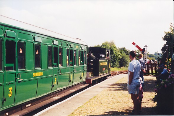 Wootton station, Isle of Wight Steam Railway