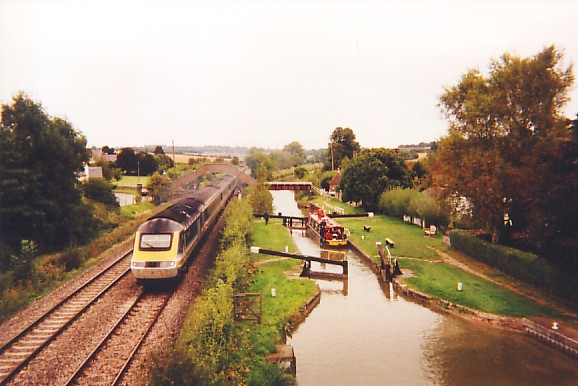 Canal and Railway at Little Bedwyn