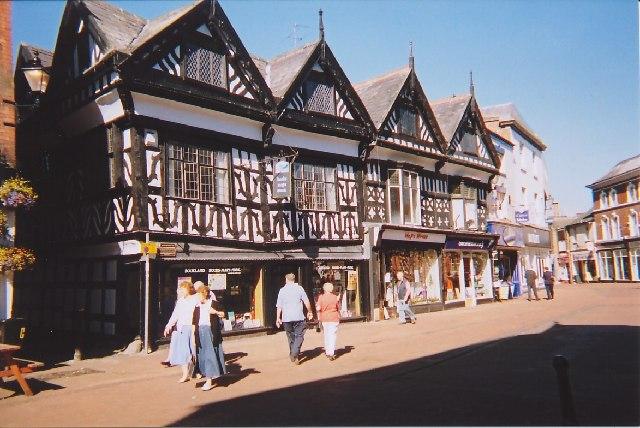 Nantwich town centre