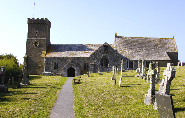 St Crantock Church