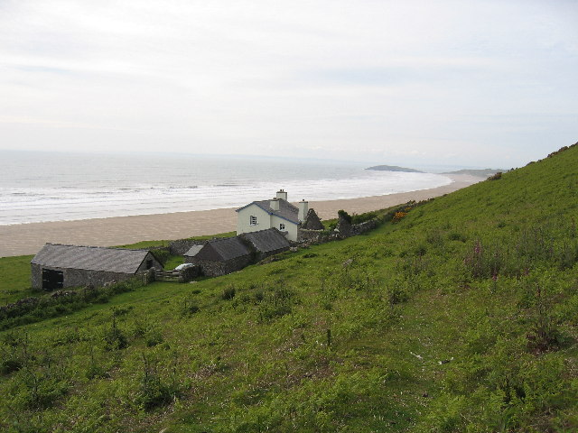 The Rectory, Rhossili Bay and Burry Holms