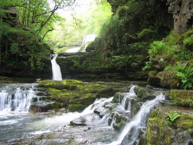 Waterfall on the Afon Mellte