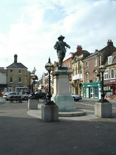 Statue of Cromwell
