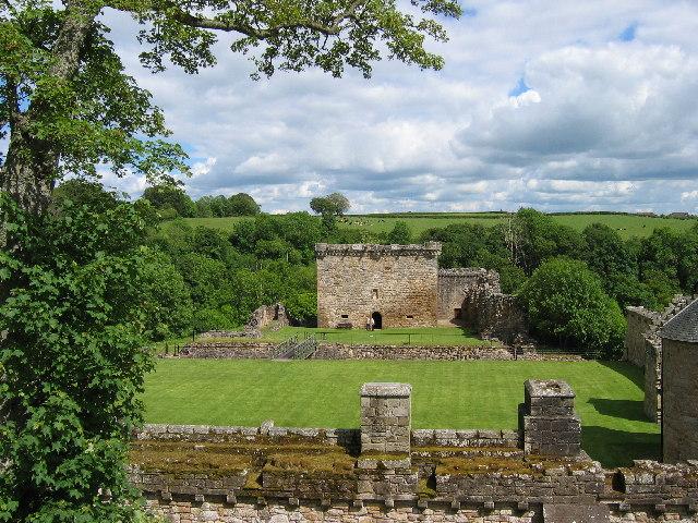 Craignethan Castle, Lanarkshire