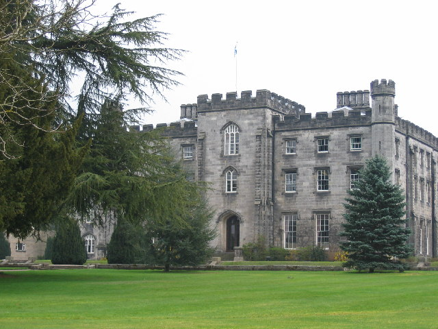 Tulliallan Castle, near Kincardine on Forth