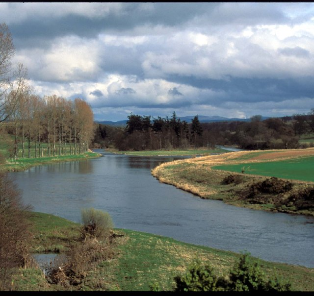 River Tweed, from Mertoun House Garden