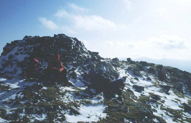 Sgurr Dhomhnuill summit.