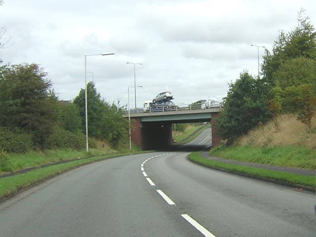 Bridge over Gathurst Road