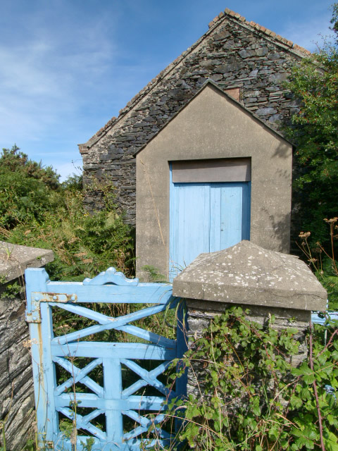 Disused chapel, Ballaugh.   Isle of Man.