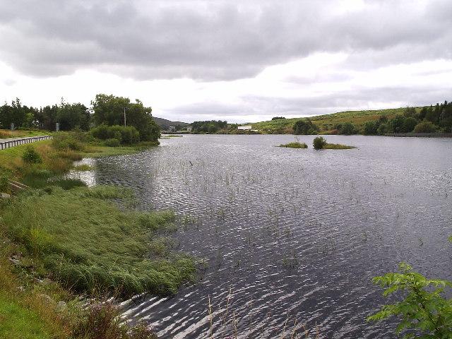 Little Loch Shin in Lairg