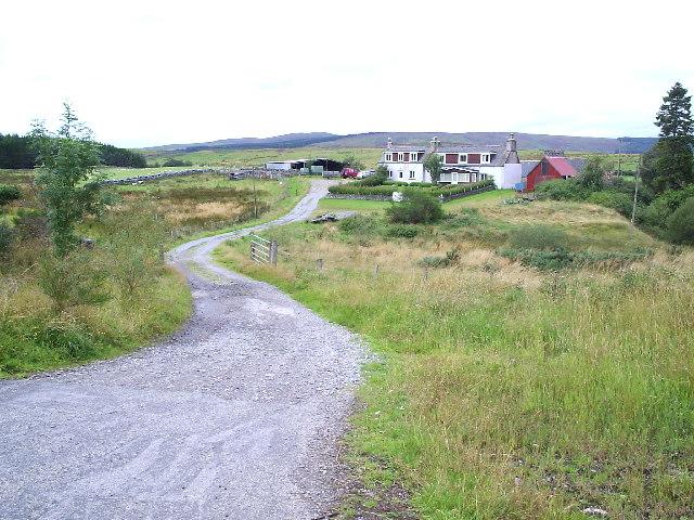 A Croft House near Lairg