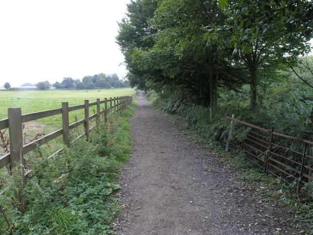 Public Bridleway, near the A25