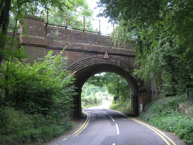 Railway Bridge, near Oxted