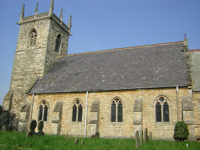 St.Helen's church, Gate Burton, Lincs.