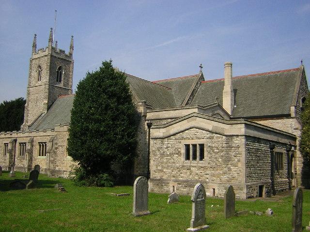 St.Paul's church, Morton, Lincs.