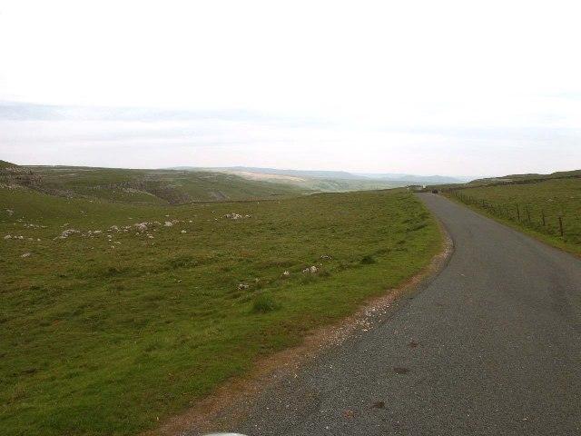 Road across Ewe Moor, Malhamdale