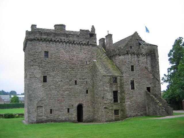 Huntingtower Castle, near Perth