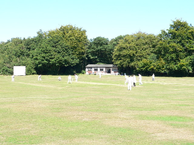 Cricket Pitch near Limpsfield Chart
