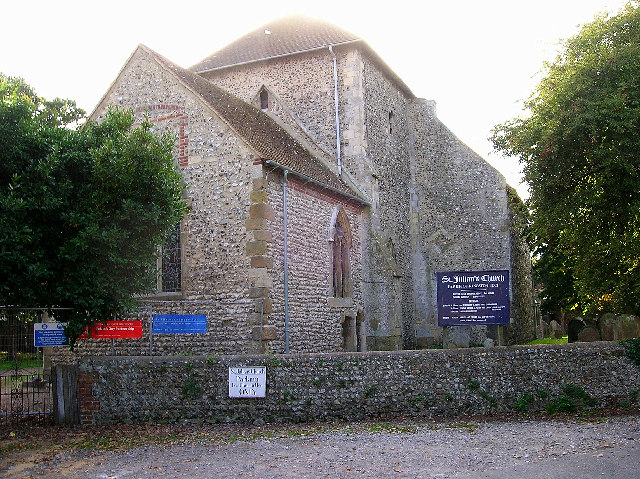 11th century church, Kingston by Sea
