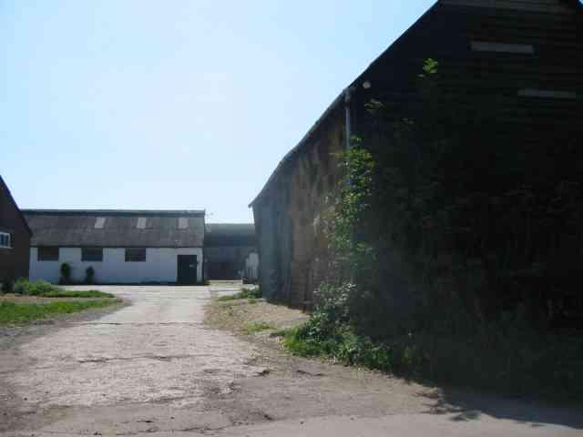 Farmyard at Bibbsworth Farm Hall