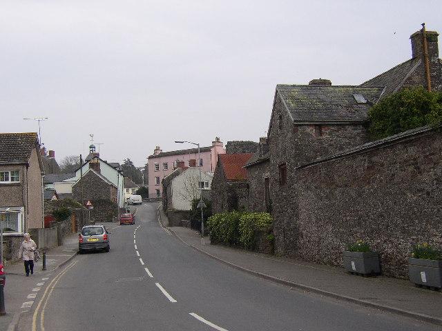 Lower Main Street (Wogan Street), Laugharne