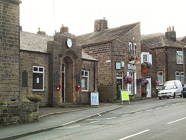 East Morton Memorial Institute and post office