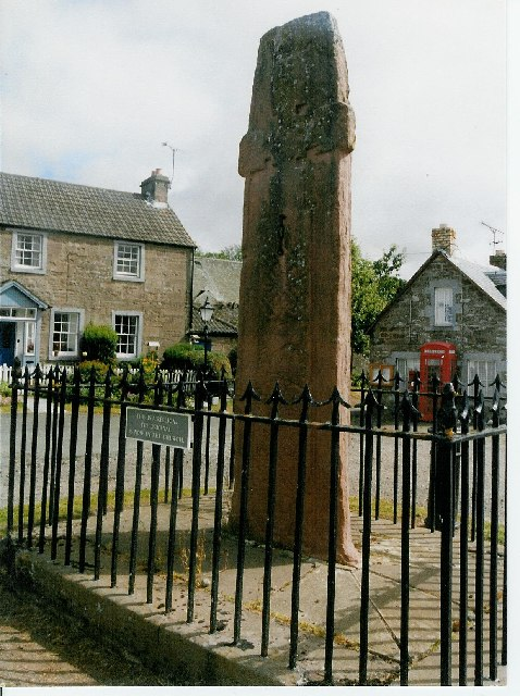 Fowlis Wester village square