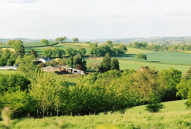 Cullompton: north east from Beacon Lane