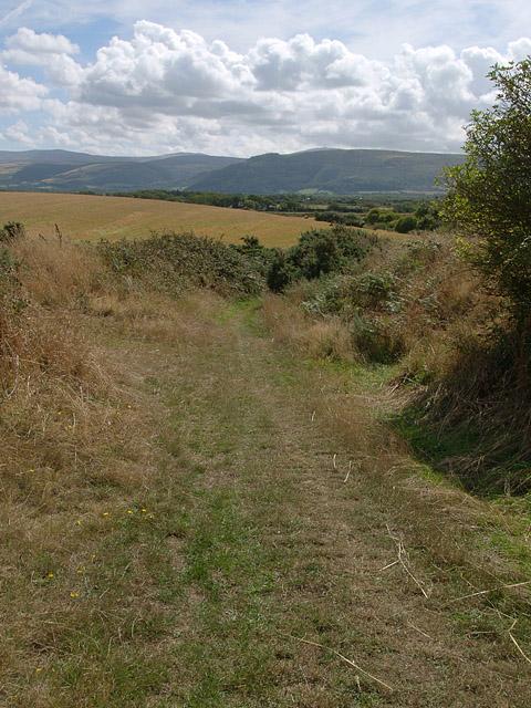 Castle Lake road, Ballaugh.  Isle of Man.