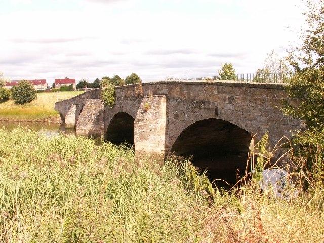 The old roadbridge between Guardbridge and Leuchars
