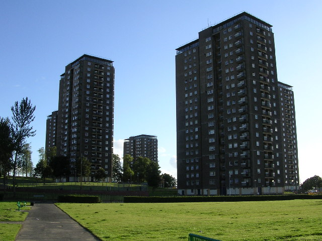 Scotstounhill Tower Blocks