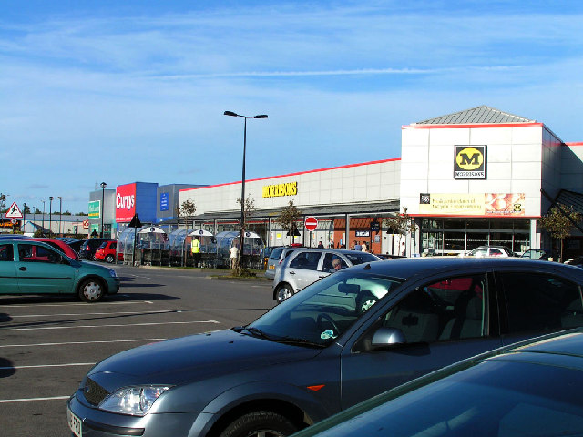 Retail Park, Clay Flatts, Workington