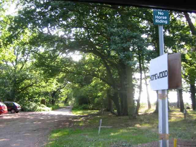 Access to  Homewood off Codicote Road  Welwyn