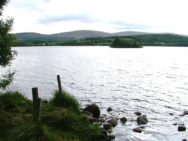 Crannog, Loch Kinord