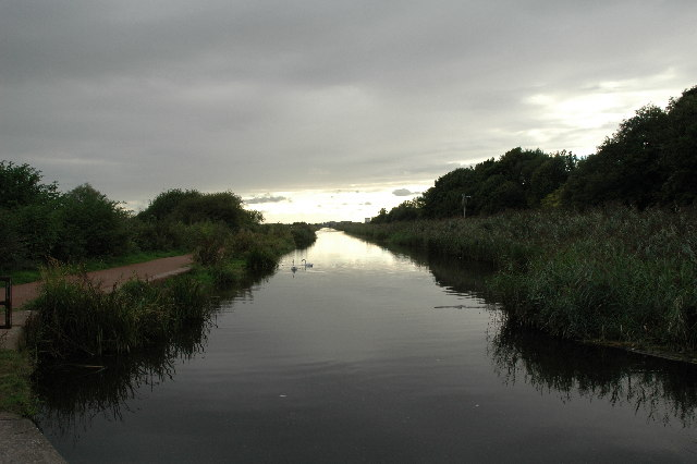 Sankey/St.Helens Canal between Warrington and Widnes