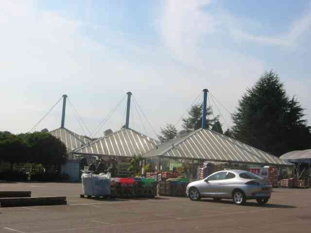 Vanstone Park Garden Centre near Drivers End