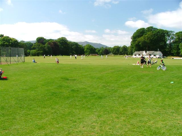 Cricket Match, Fitz Park